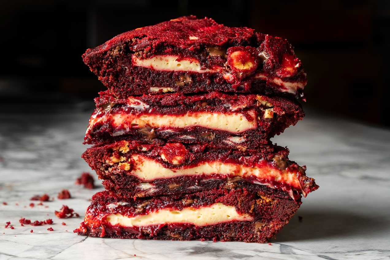 Red Velvet Cookie Pie Kit