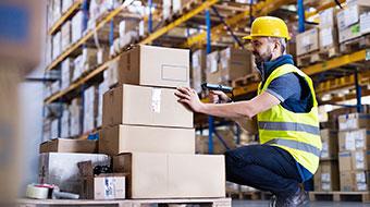 Transportation industry and logistics image