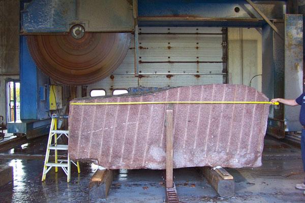 Adams Granite Co. Large Saw