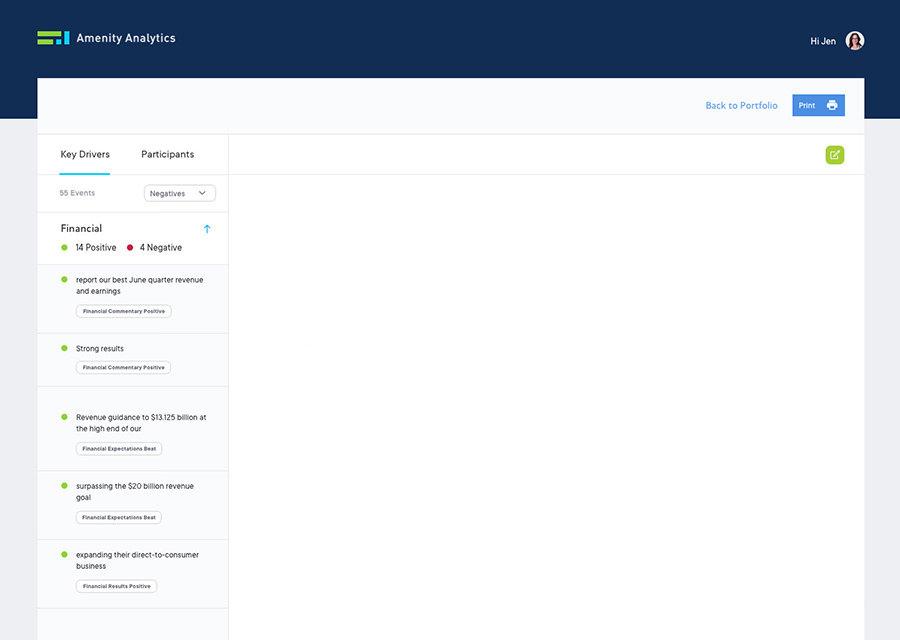 Amenity Analytics   NLP Text Analytics & Mining Software for