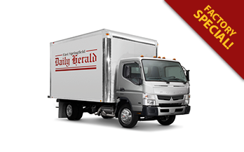 Lease a 2018 FUSO FE160 for as Low as $612/Month