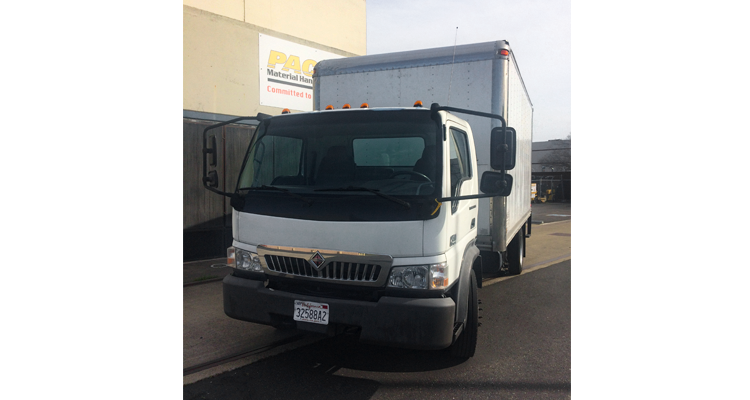 2006 International CF500 Box Truck