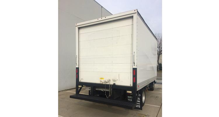 2012 FUSO FE160 Box Truck - 14'