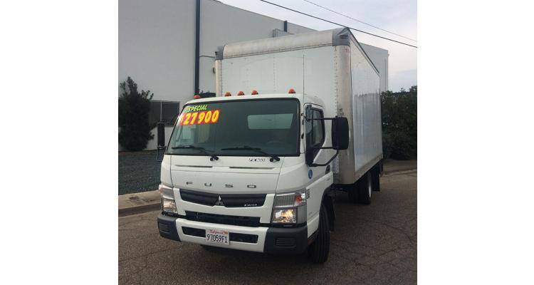 2012 FUSO FE160 Box Truck - 16'