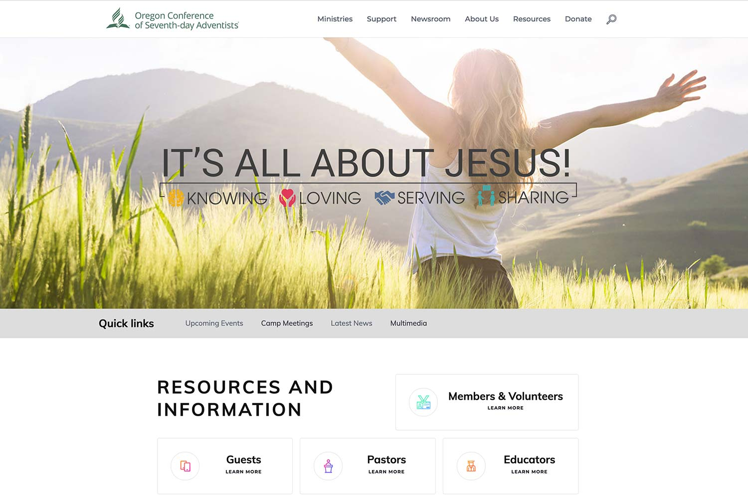 Welcome to the New OregonAdventist.org!