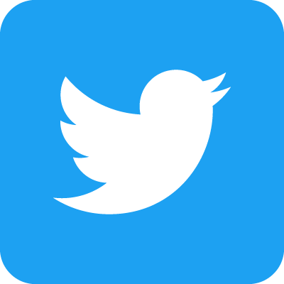 Twitter icon and link