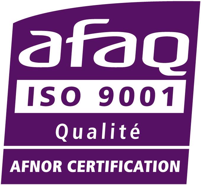 Certification ISO 9001 AFAQ