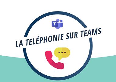 La téléphonie sur Teams