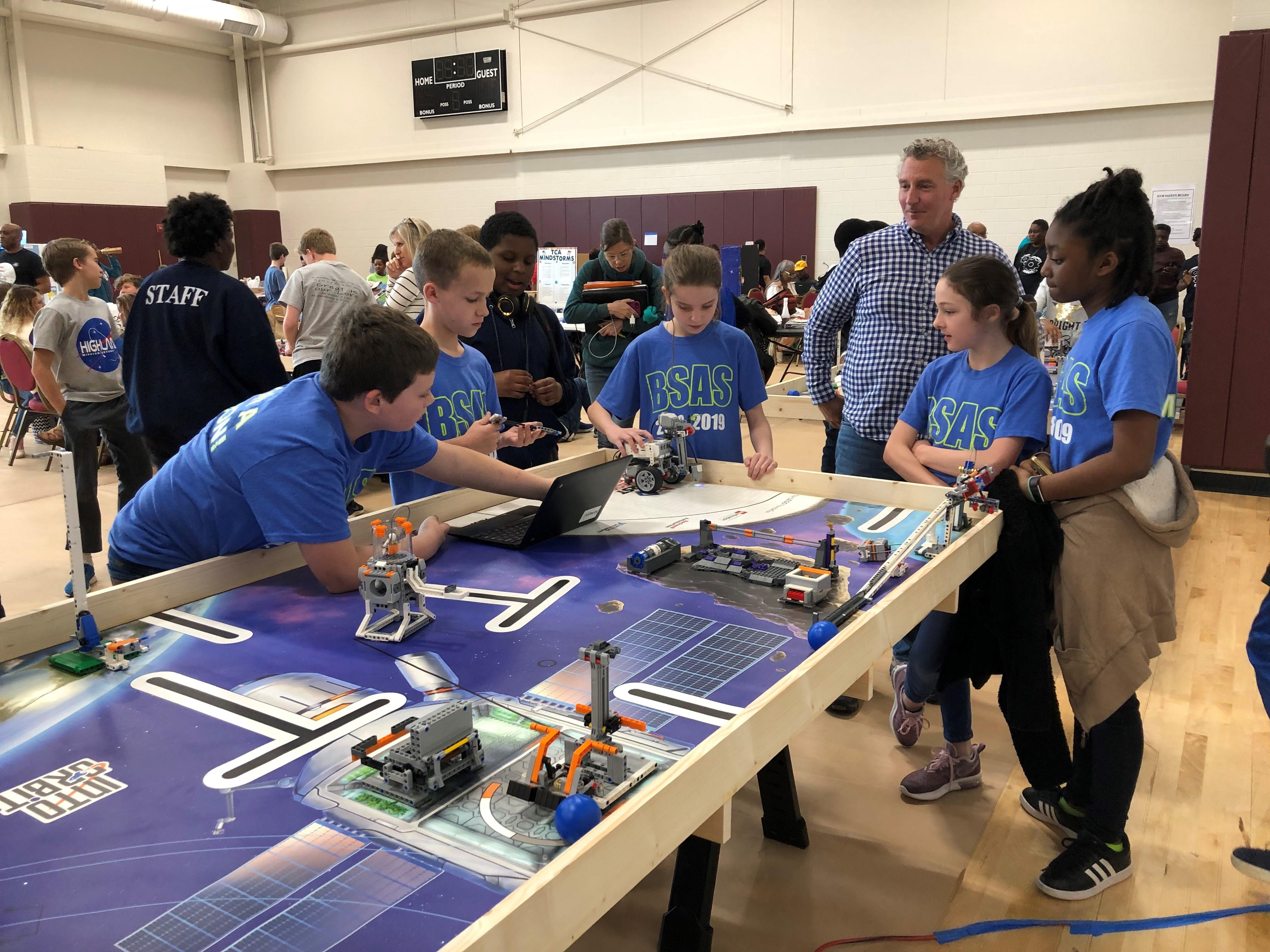 Lego Robotics 2019 Bentonville SDA School