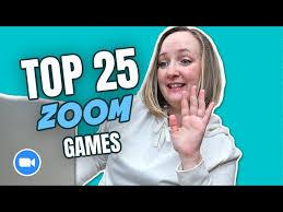 TOP 25 ZOOM GAMES
