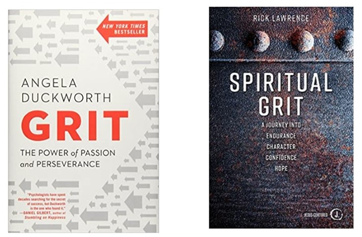 Grit:  The Power of Passion and Perseverance and Spiritual Grit:  A Journey into Endurance, Character, Confidence, Hope