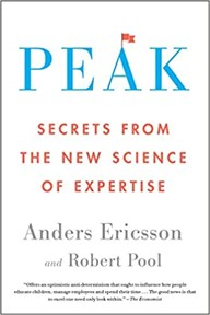 Peak:  Secrets from the New Science of Expertise, 2016