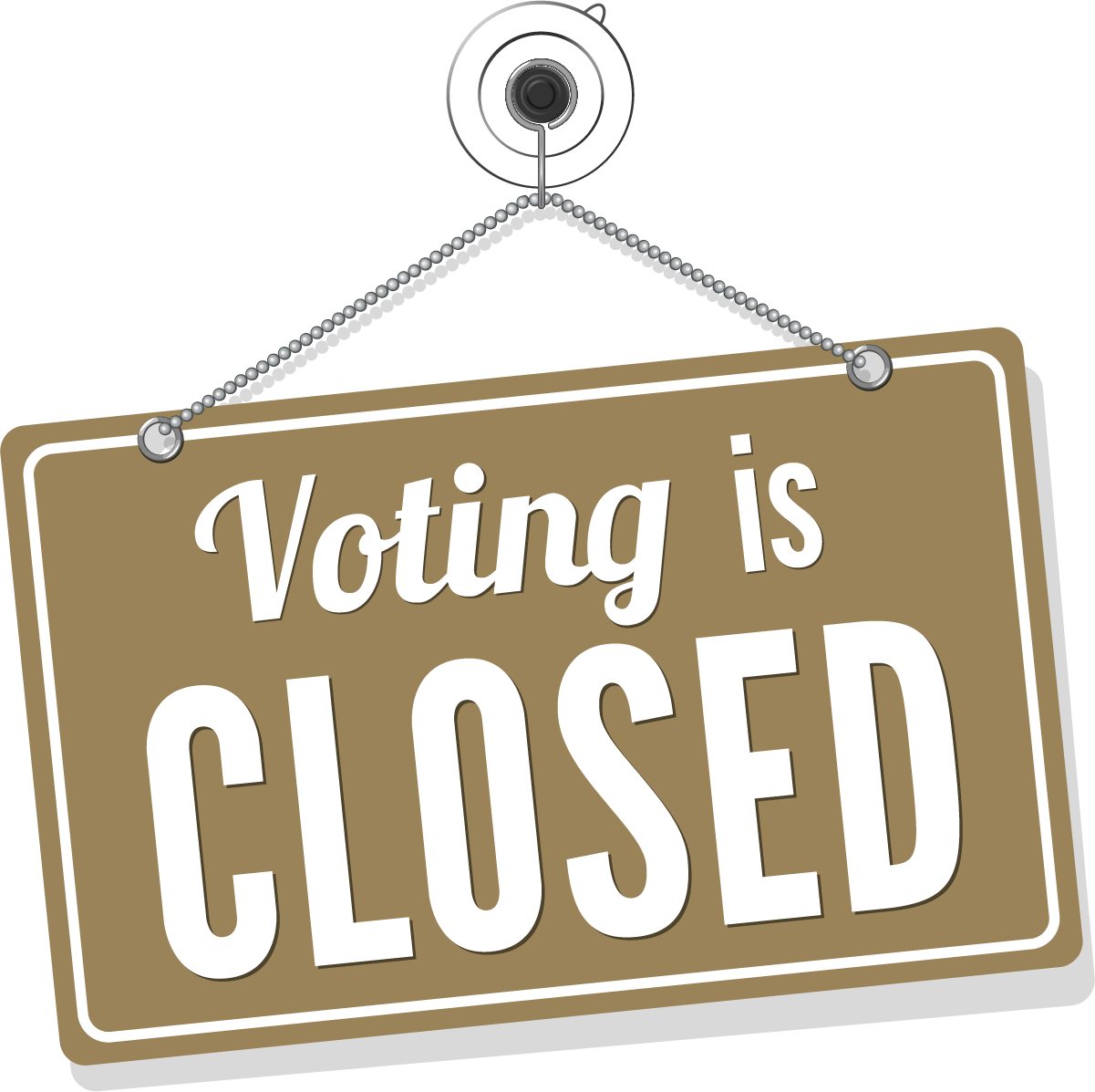 Voting is Closed