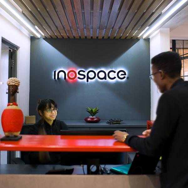 inospace team members at work