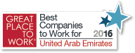 Great Place to Work Award 2016