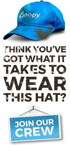 Think you've got what it takes to wear this hat? (Canopy hat)