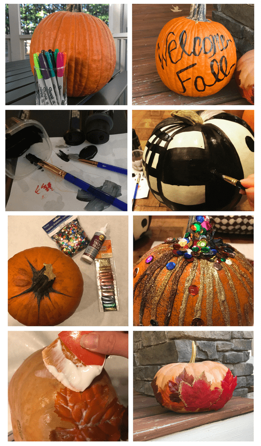 4 Ways To Decorate A Pumpkin Without Carving