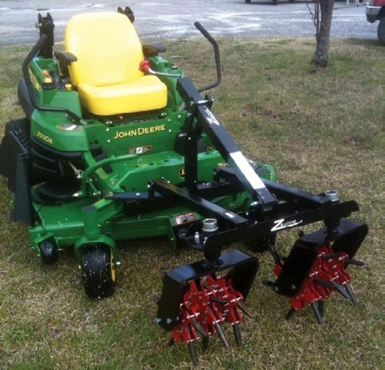 Zrator - New Aeration Attachment For Mowers