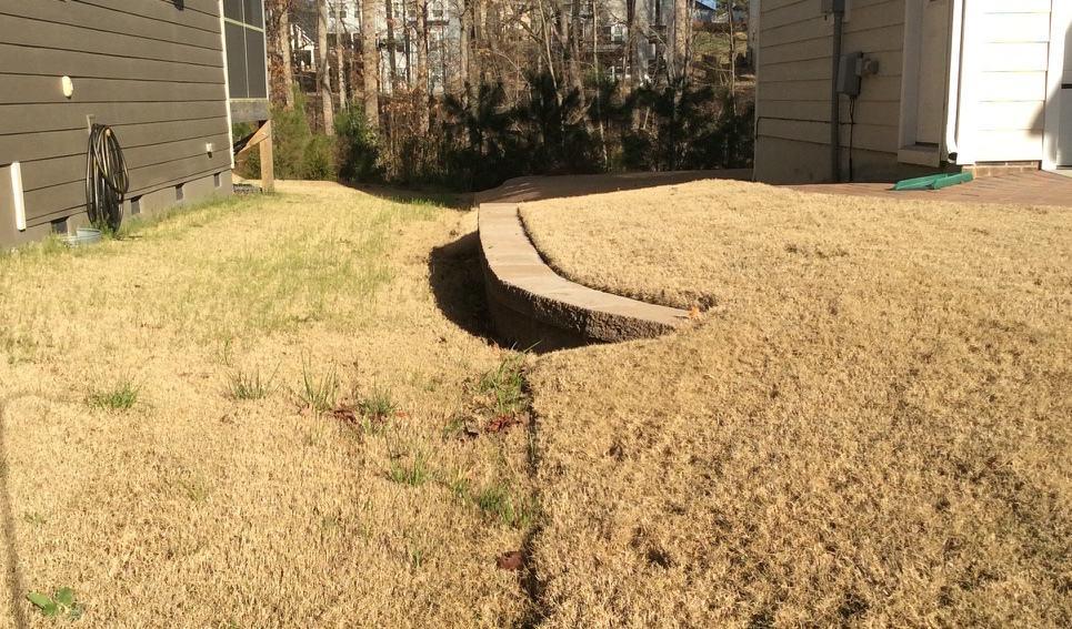 Bermuda grass in March Canopy Lawn Care North Carolina