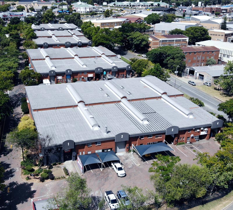 Industrial and office work space for rental in Strydom Park