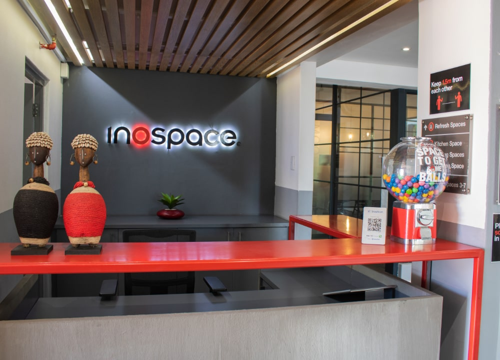 inospace office location - The Powder Mill