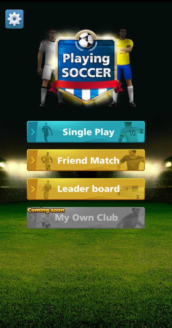 スーパーアプリ、本格サッカーゲーム『Playing SOCCER』をFacebookインスタントゲームにて全世界配信!