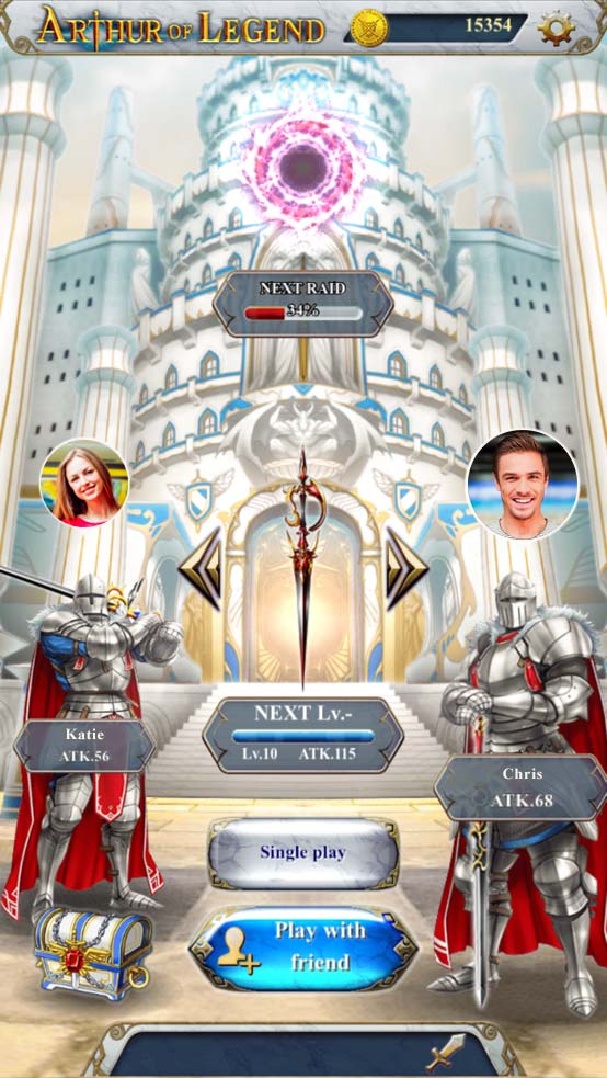 スーパーアプリ、連射アクションRPG『Arthur of Legend』をFacebookインスタントゲームで全世界配信 友だちとのレイドバトルも可能!