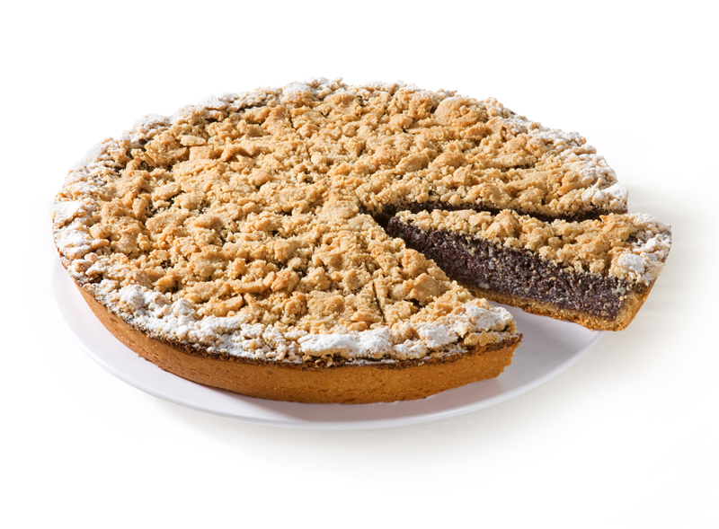 Mohn Vanille Streuselkuchen