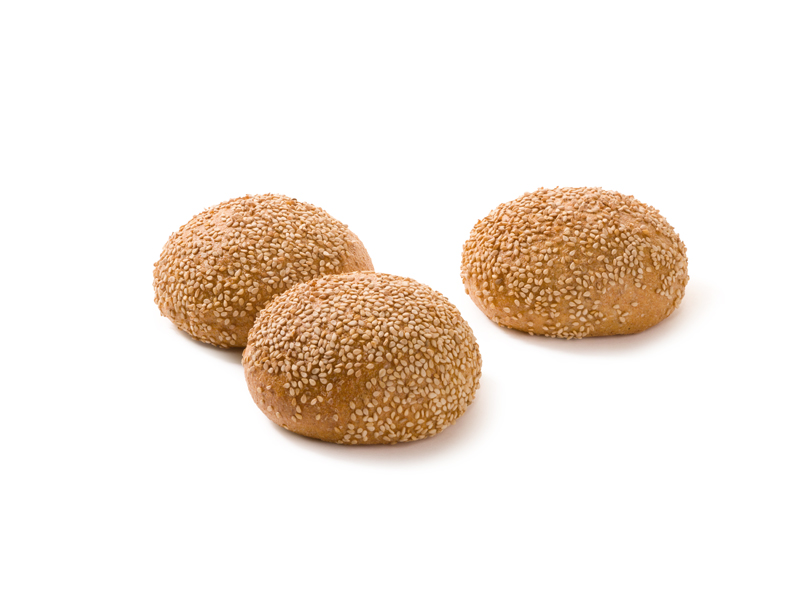 Vollkornbrötchen Sesam