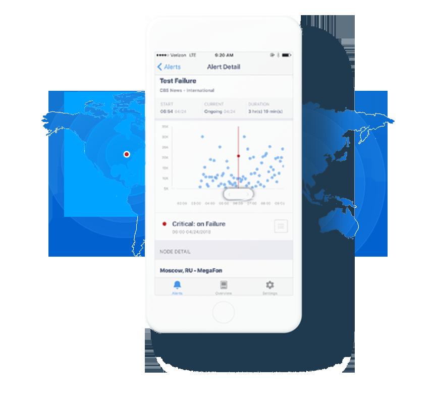 Real User Monitoring Mobile App