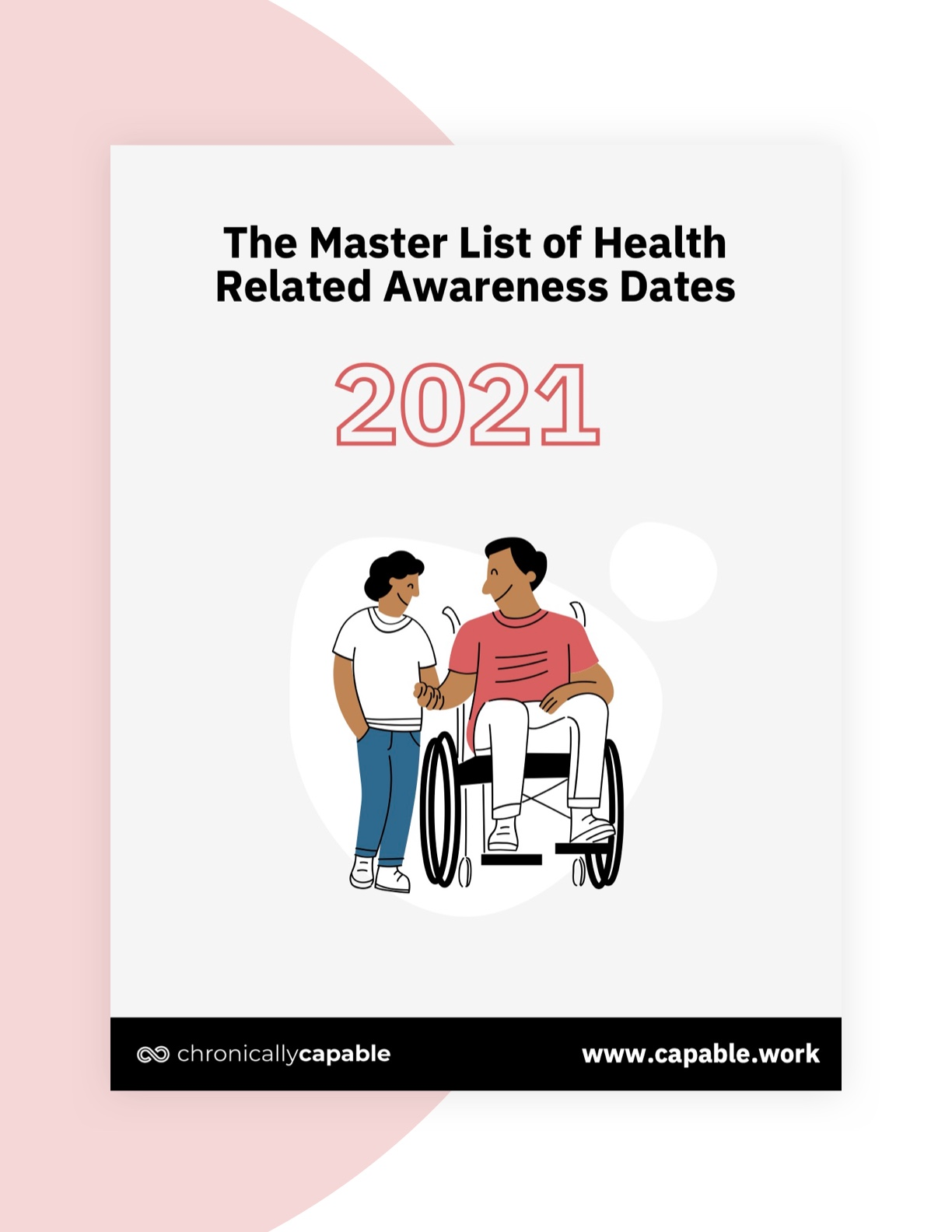 The Master List of Health Related Awareness Dates by Chronically Capable