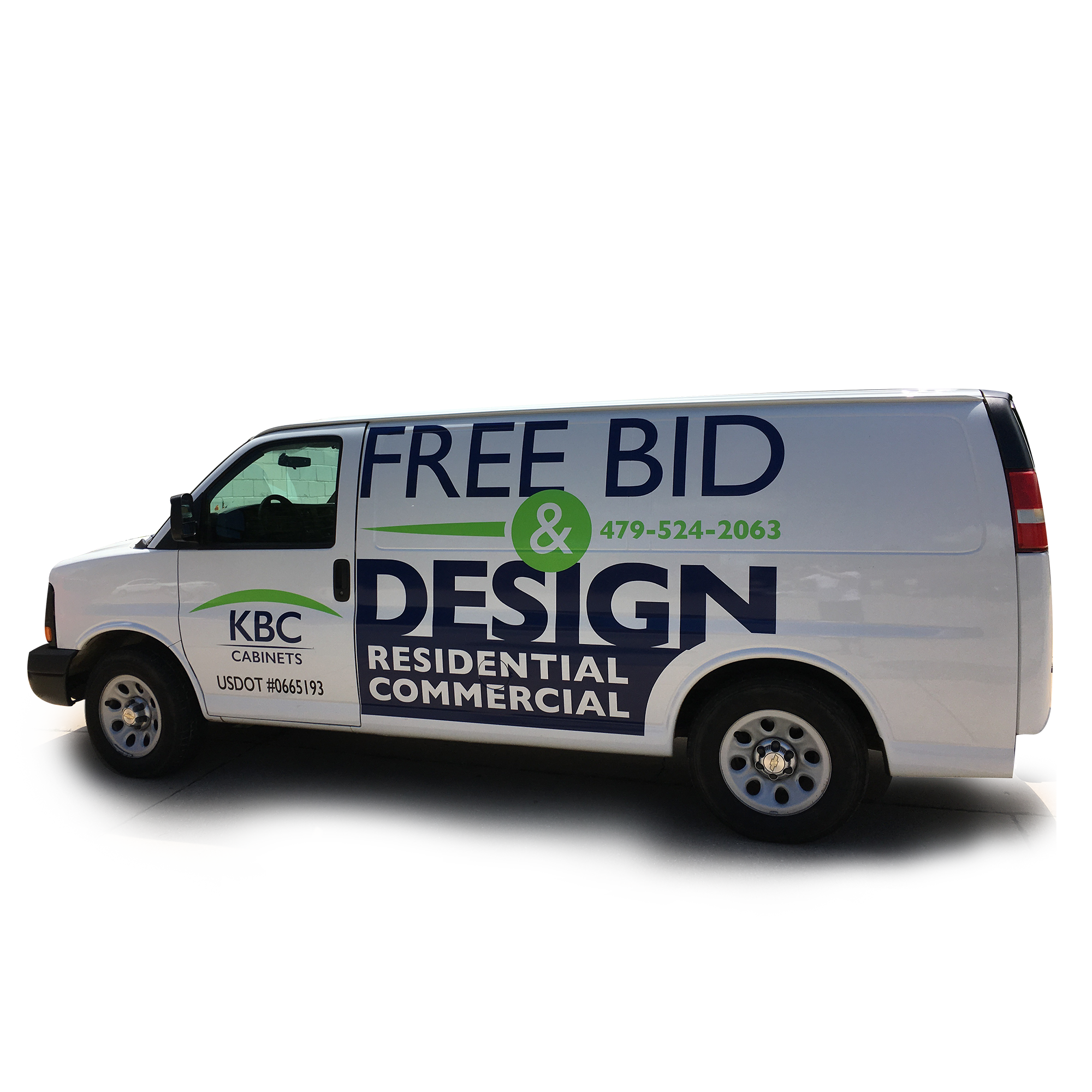 A simpler cheaper version of the full body vehicle wrap this full color print covers portions of the vehicle body allowing for strategic placement of