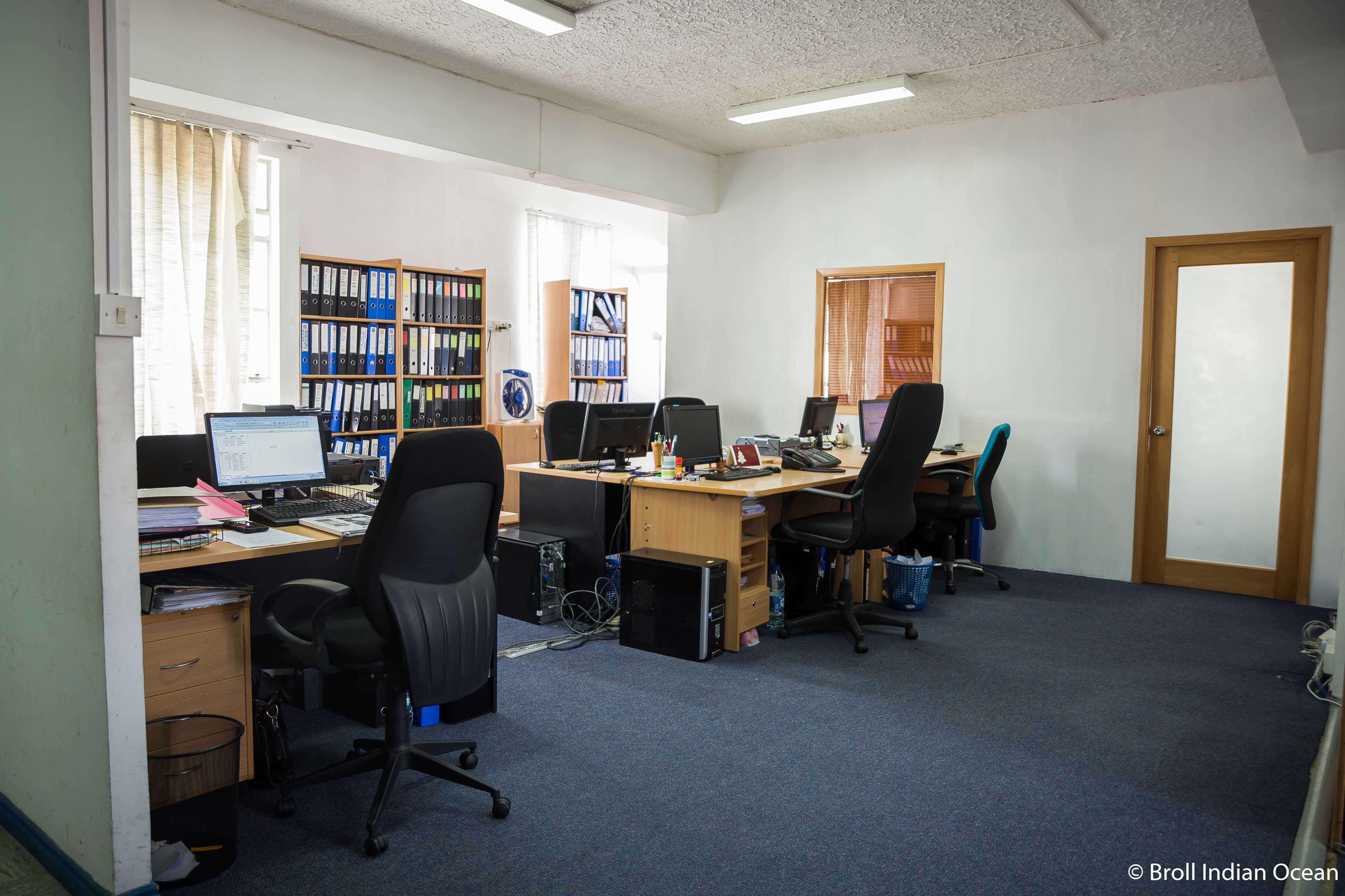 2 office spaces in Jade Court Building, Port Louis