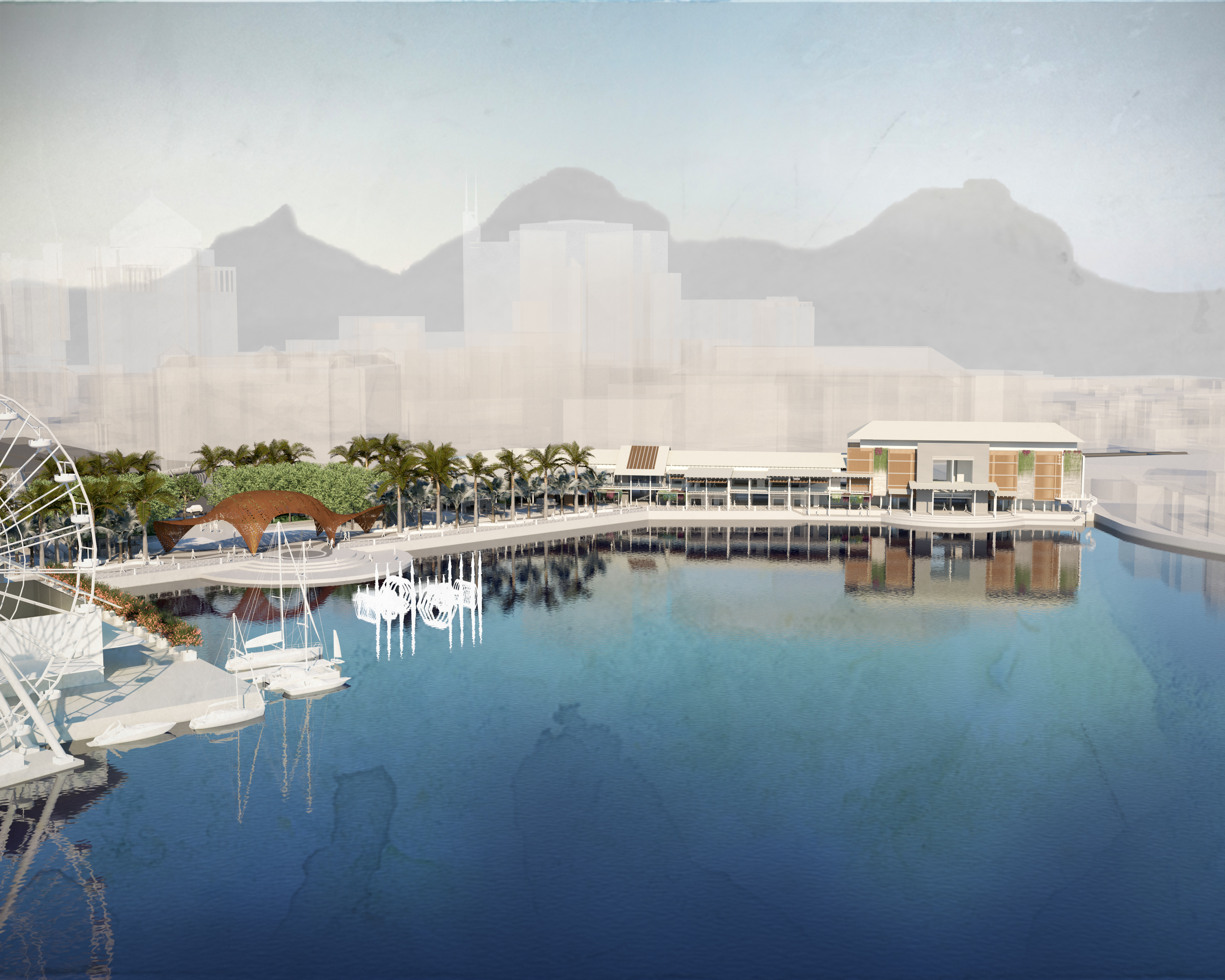 Port Louis Waterfront - Office space for rent