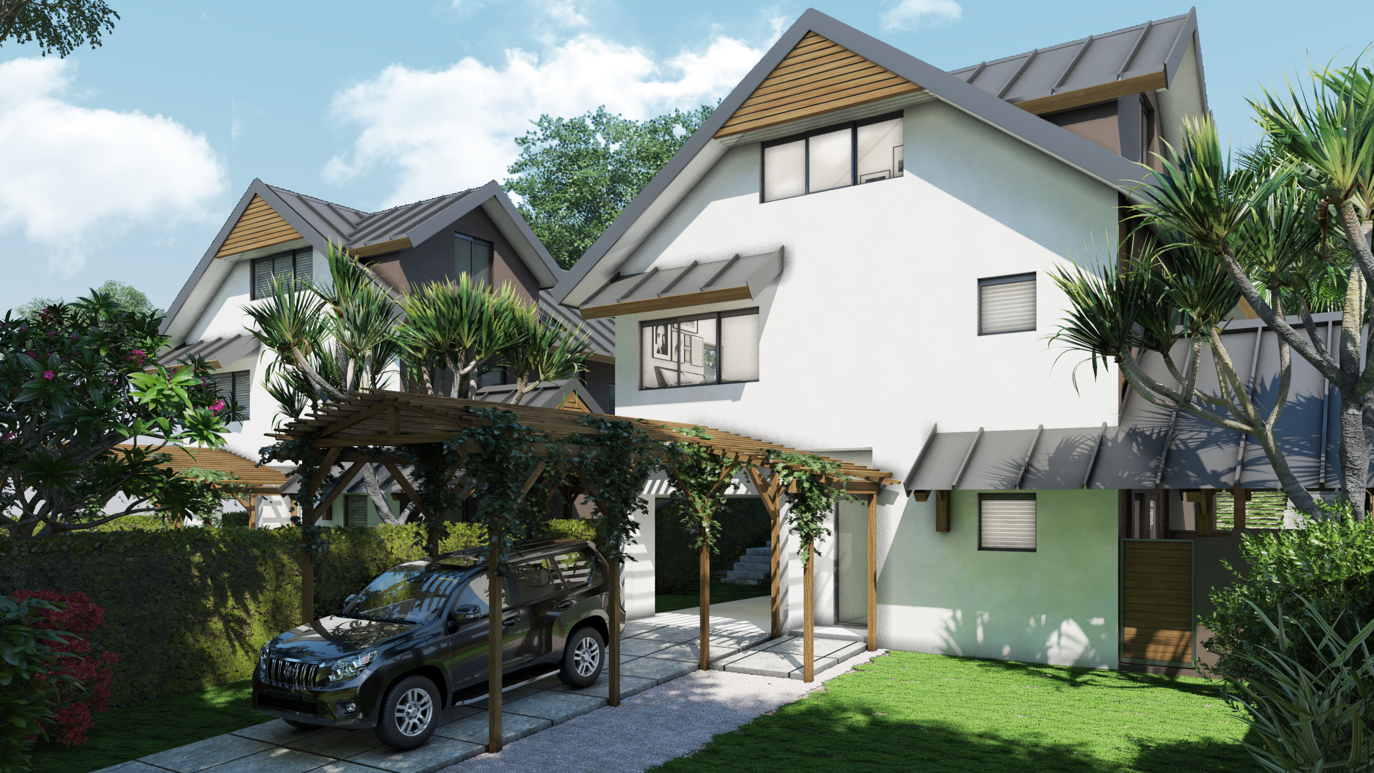 New Townhouses for sale at Floreal_Type 3