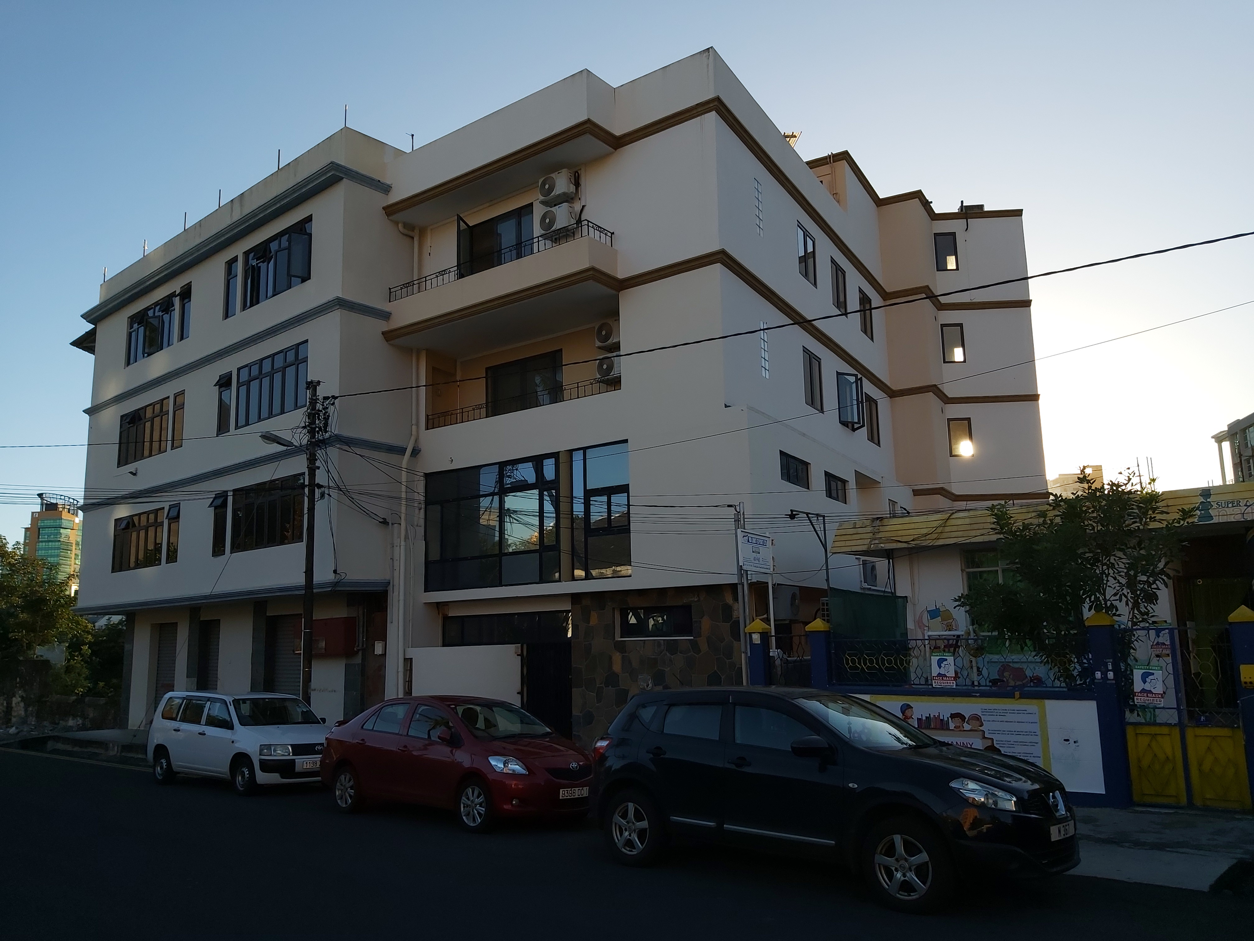 First Floor Office Space for Rent - Edith Cavell Street, Port Louis