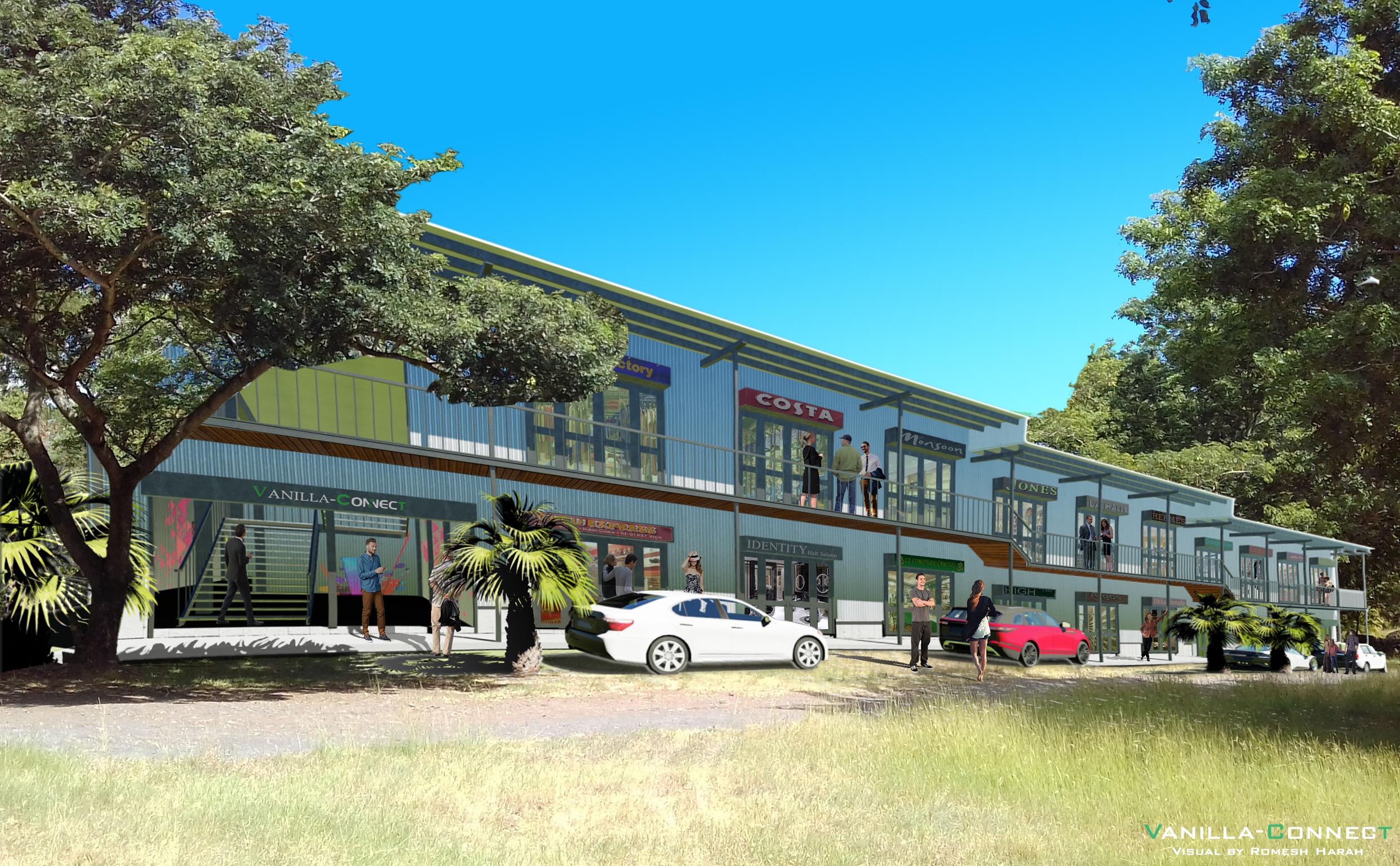 Retail or Office Space for rent at Tamarin