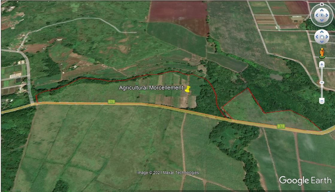 Agriculture Lands for Sale for at Gros Cailloux