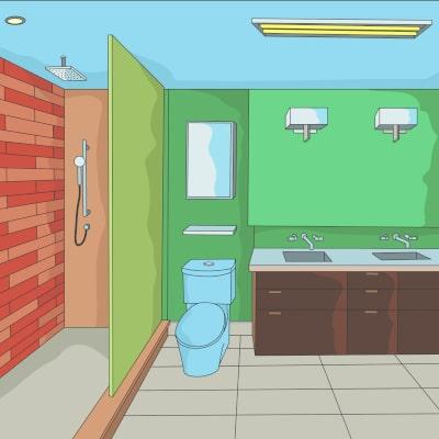 Badezimmer streichen | Lesezeit ca. 2 Minuten