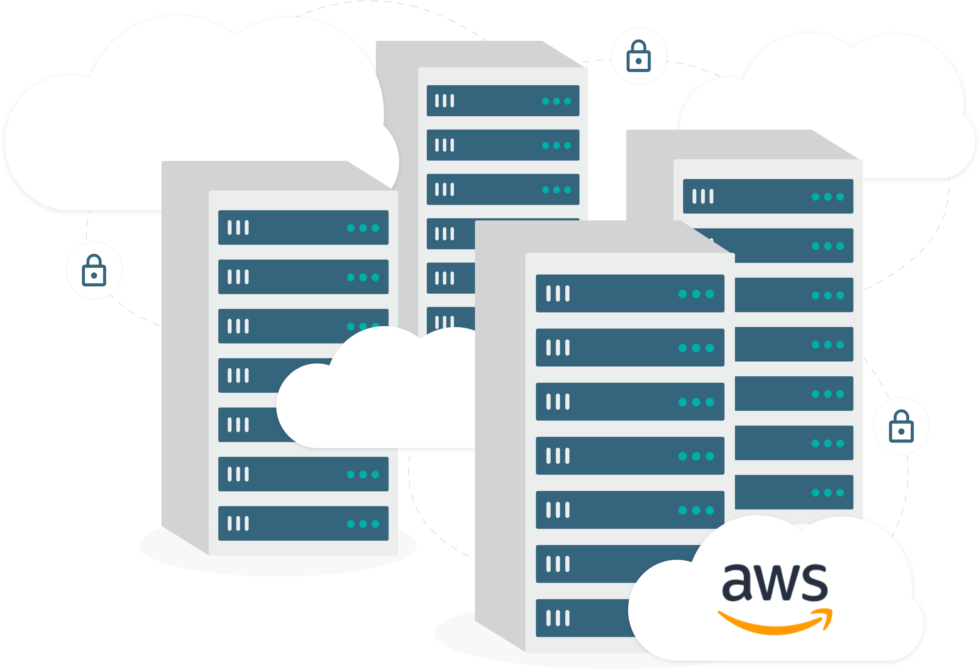 DISCO's trusted security on AWS illustration