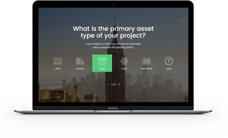 screenshot of Stacksource platform