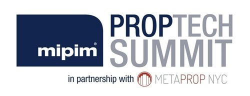 logo: mipim PropTech Summit in partnership with Metaprop NYC