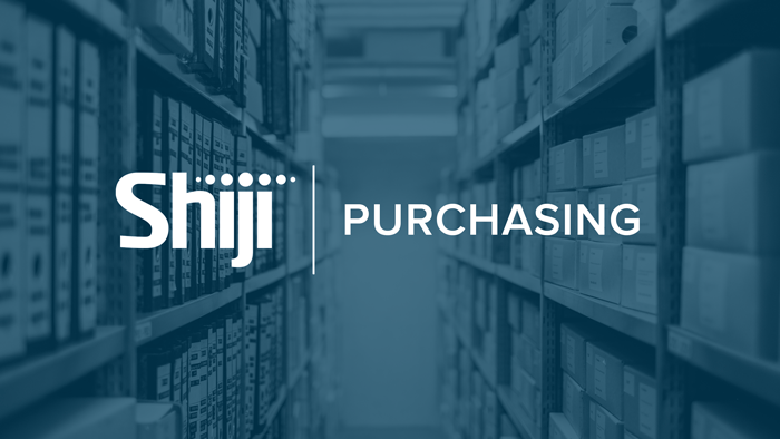 Shiji Purchasing - Purchasing & Inventory Management