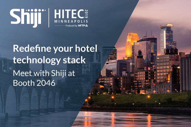 Shiji Group Attends HITEC Minneapolis 2019