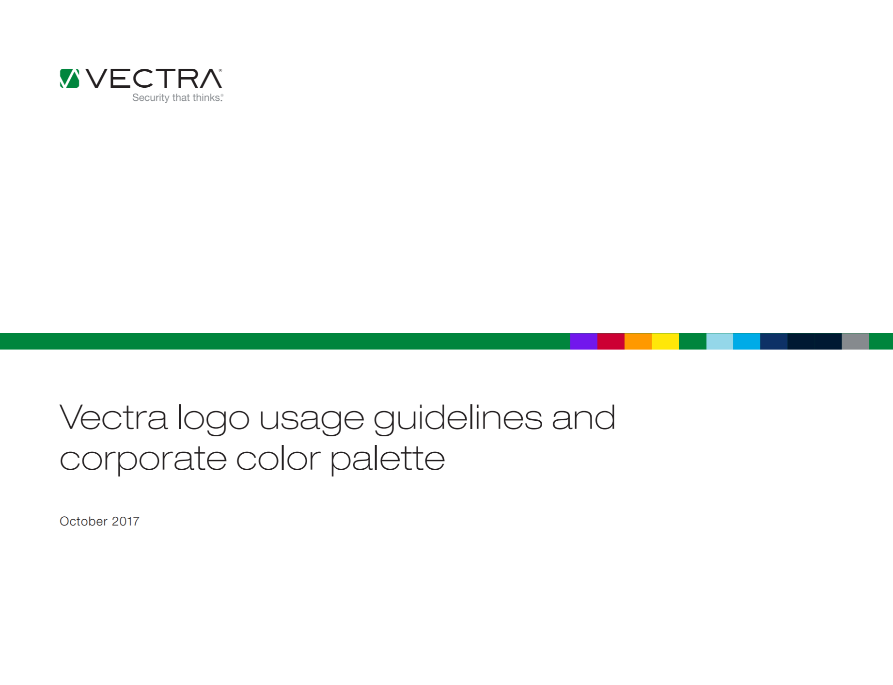 Vectra brand guidelines