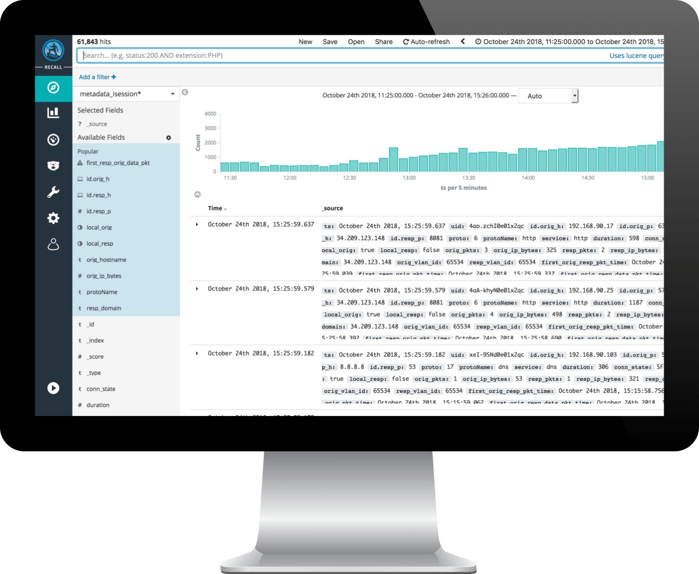 Full metadata search capabilities and limitless data storage