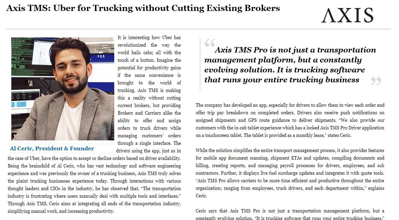Logistics Tech Outlook Magazine