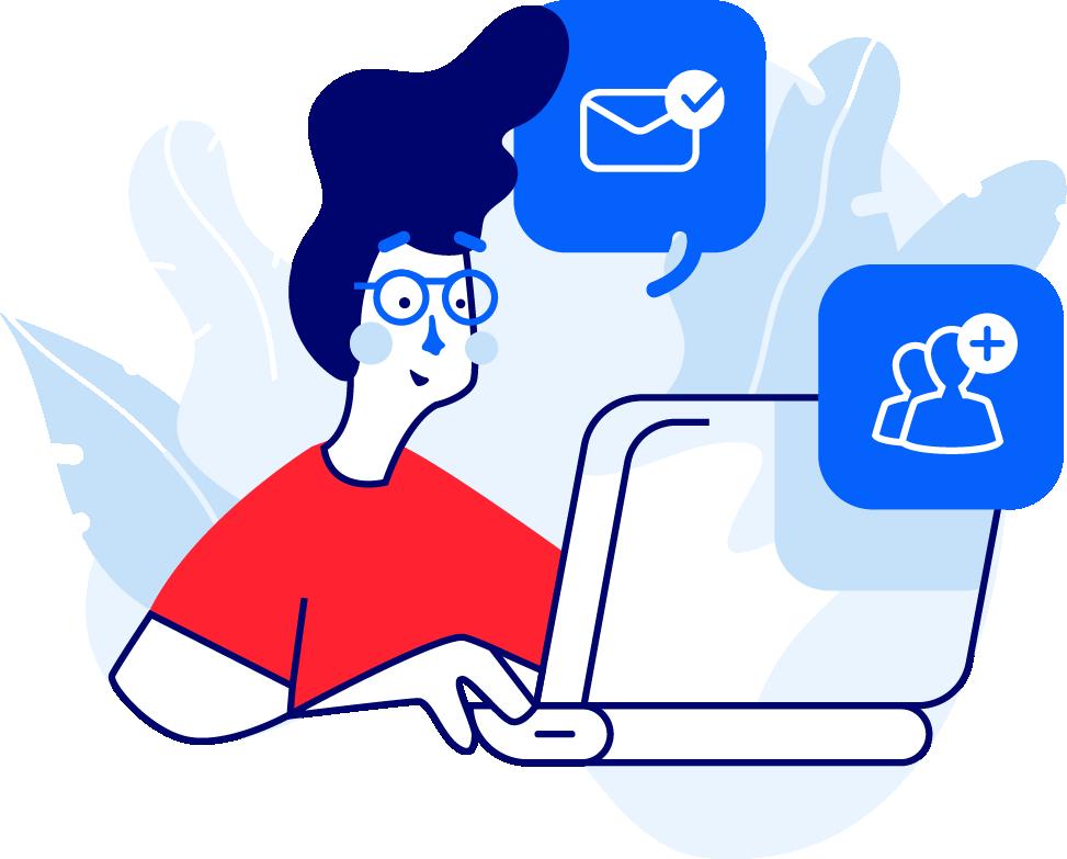 Linkedin profile visits