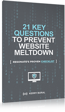 21 Key Questions to prevent website meltdown by Kerry Bural