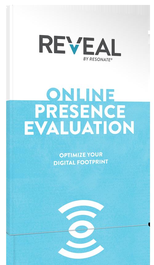 REVEAL online presence evaluation